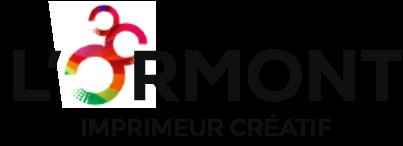 Logo l'Ormont imprimeur